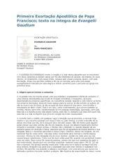 Primeira Exortação Apostólica de Papa Francisco.pdf