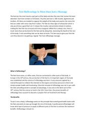 Foot Reflexology Is More than Just a Massage.pdf