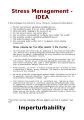 Stress Management - IDEA.doc