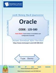 1Z0-580 TestsExpert.com.pdf