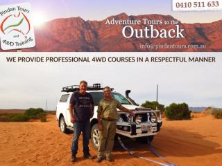 WE PROVIDE PROFESSIONAL 4WD COURSES IN A RESPECTFUL MANNER.pptx