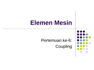 6 Coupling.ppt