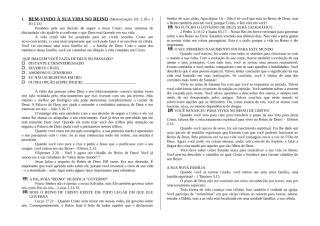 7 SEMANAS DE DISCIPULADO RUG - NOVO CONVERTIDO.doc