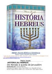 LIVRO HISTORIA DOS HEBREUS DE FLAVIO JOSEFO COMPLETO.doc