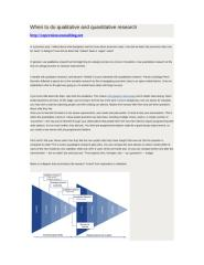 When to do qualitative and quantitative research.doc