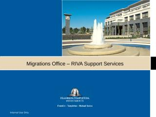 Migration Team - RIVA.ppt